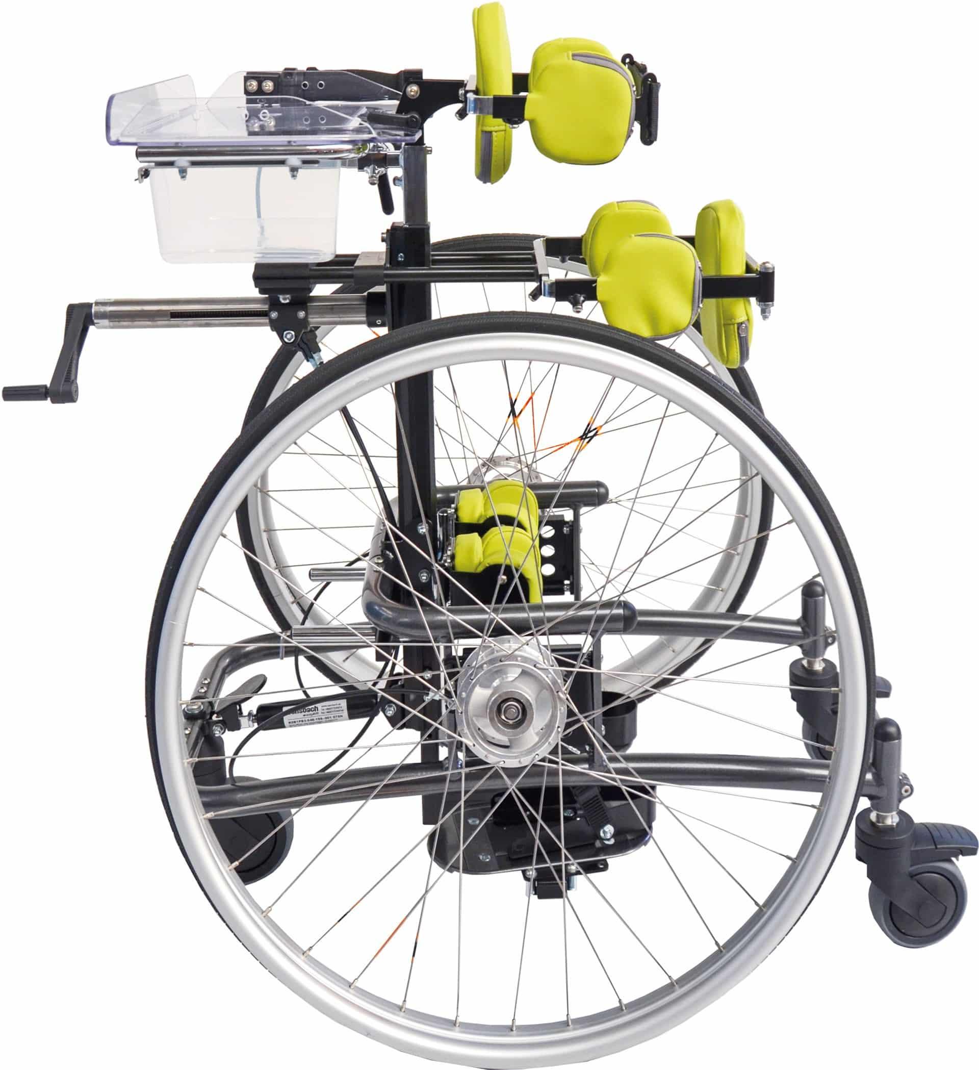 Boogie Rollstuhl gelb